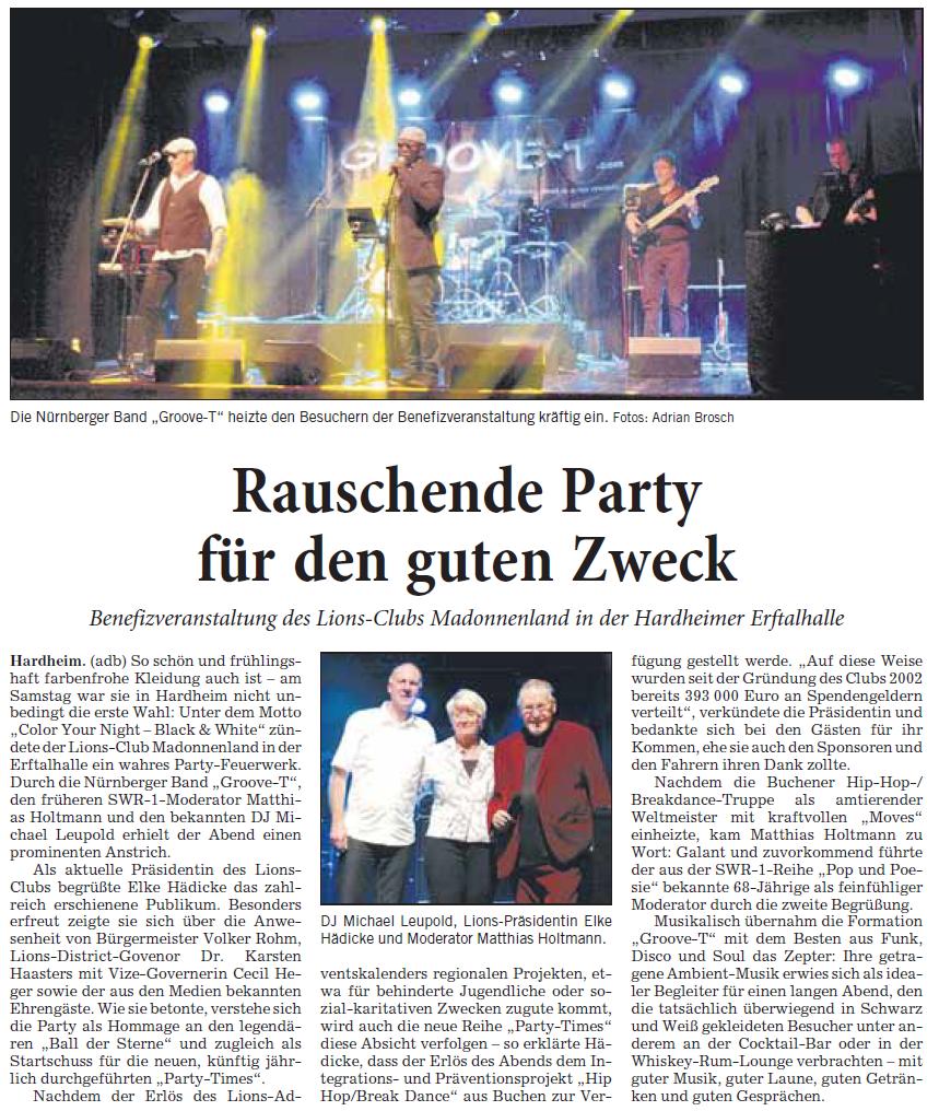 Quelle: Rhein-Neckar-Zeitung, 75. Jahrgang / Nr. 80, Donnerstag 4. April 2019